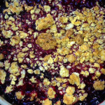 Blackberry Plum Cobbler